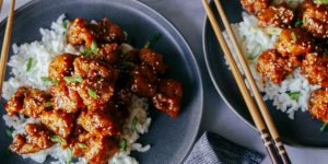 Easy Sesame Ginger Chicken Recipe (Chinese Style)